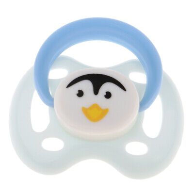 Lovely Dummy Magnetic Pacifier for Reborn Newborn Baby Doll Supplies White
