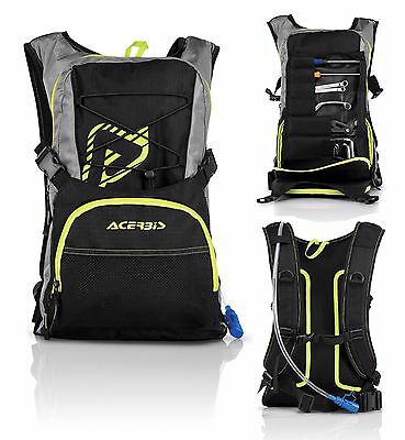 Zaino Zainetto Idrobag Attrezzi Tool Acerbis H2O Acqua 2L Bag Enduro Cross 10L