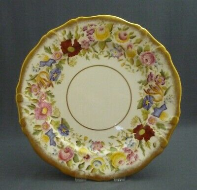 """Nice Hammersley England Queen Anne Morning Glory Bone China 9"""" Luncheon Plate"""