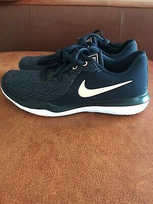 e849a5e1abaf New Nike Womens Flex Supreme Tr 6 Running Shoes 909014-402 Navy  Pink Size