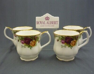 4 - Royal Albert Old Country Roses Bone China Coffee Hot Chocolate Cups Mugs