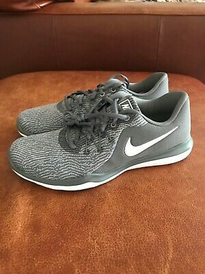 4d77e49745a09 NEW NIKE WOMENS Flex Supreme Tr 6 Running Shoes 909014-019 Gray Size ...