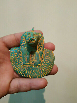 ANTIQUE ANCIENT EGYPTIAN RARE STATUE GODDESS Sekhmet Figurine