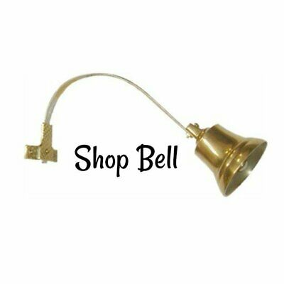 Shop Bell Shopkeeper's Door Bell - Brass- Antique Style Door Bell Store Bell