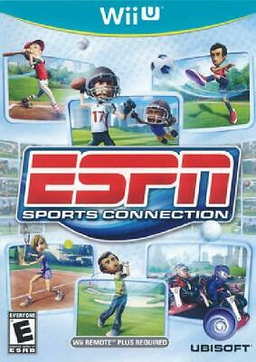 ESPN Sports Connection NM Complete Nintendo Wii U WiiU Game