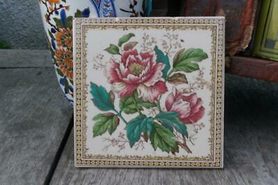 Victorian Aesthetic Tile Re-issue Print And Tint Design H & R Johnson New Tile