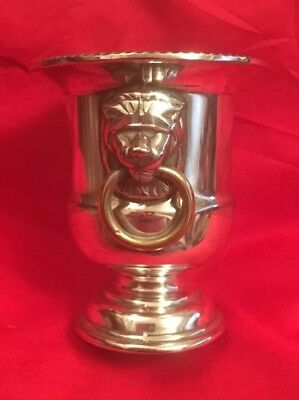 Vintage Silver Plated Mustard Pot By Viners c.1970's