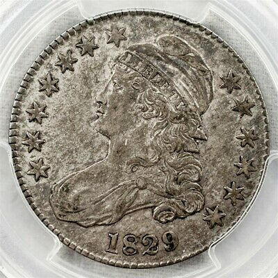 1829 Capped Bust Half Dollar, Overton O-119 - PCGS XF45 - CAC Certified