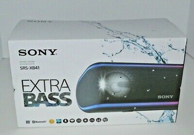 Sony SRS-XB41 Portable Extra Bass Bluetooth Speaker NEW