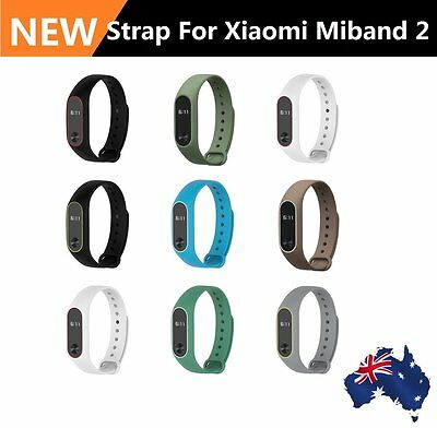 8 Colors Mibos Silicone Replacement Strap Wrist Band for Miband 2 Soft Belt MG