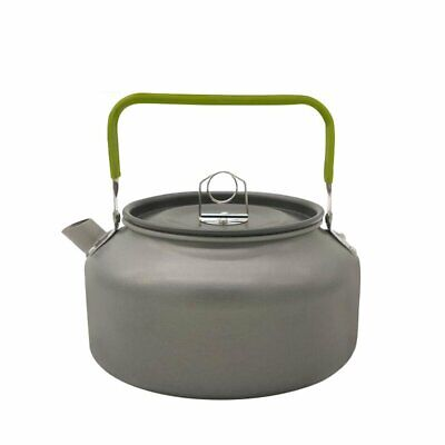 1.2L Aluminum Portable Metal Tea Pot Coffee Water Kettle Teapot for Camp 5Y