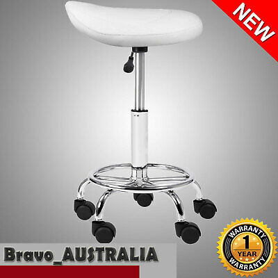 Salon Saddle Stool Hydraulic Chair Swivel Barber Massage Hairdressing Equipment