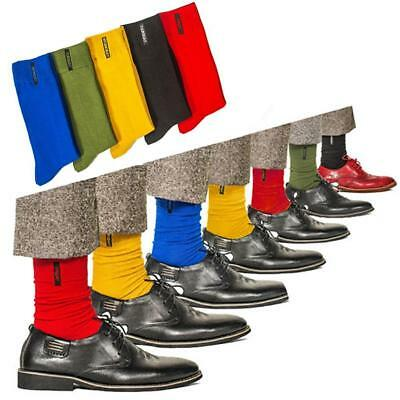 Mens Cotton Socks Solid Color British style Business Casual Socks New