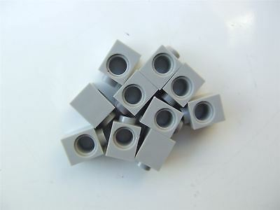 10x LEGO NEW 1x1 Dark Stone Grey Technic Brick with Hole 4210639 Brick 6541