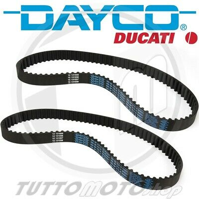 KIT CINGHIE DISTRIBUZIONE DAYCO 1 EQUIP. DUCATI Monster S4 RS 998 2006 2007 2008