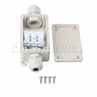 3 Way Outdoor Waterproof IP65 Cable Connector with P02-3 Terminal Junction Box