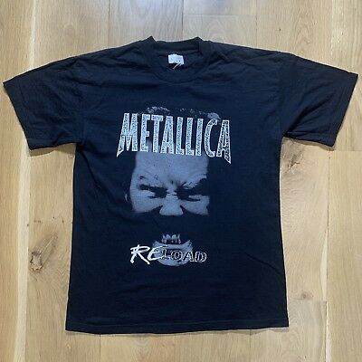"Very Rare Vintage 1997 Metallica ""Reload"" Screen Stars Tour / Band Tee, Size L."
