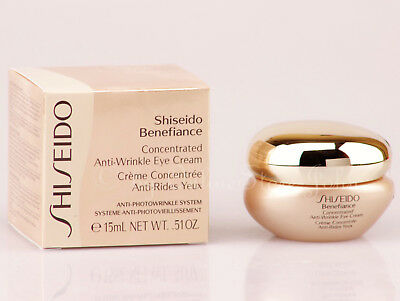 Shiseido Benefiance Concentrated Anti-Wrinkle Eye Cream 15ml New
