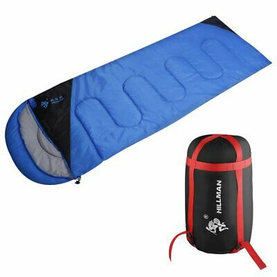 Outdoor Sleeping Bag Envelope Type Light Weight Portable Camping Bag 2 Col FR