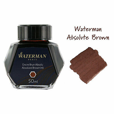 Waterman Ink Bottle for Fountain Pens, 50ml (Color Variation)