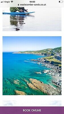 Holiday to Woolacombe Devon 25th-29th March