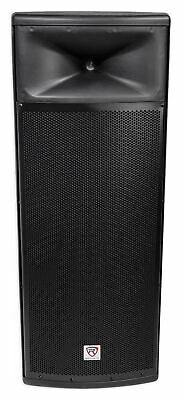 "Rockville SPGN258 Dual 15"" 3000w 2-Way 8-Ohm Passive DJ PA Speaker/ABS Cabinet"