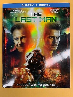 The Last Man BLU-RAY/DIGITAL with SLIPCOVER NEW