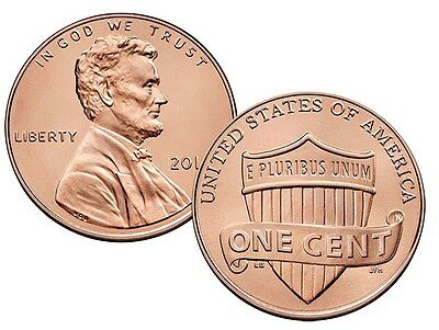 Hot !! New 5 - 2019 P & D Mint Sets Lincoln Sheild Cents Bu From Bank Rolls  #a
