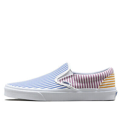 0c94c6c9c1b5 New Vans Classic Slip-On Deck Club Mix Stripes Men Women Unisex Skate Shoes