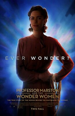 """Professor Marston and the Wonder Women movie poster (b)  - 11"""" x 17"""" inches"""