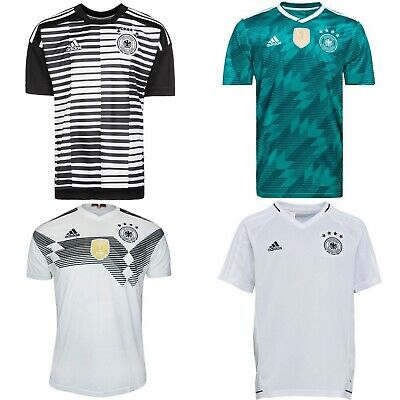 adidas Boys' Soccer Germany Pre-Match, Home, Away, Training Jersey  Youth