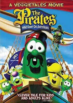 Pirates Who Don T Do Anything: A Veggie Tales Movie (Fullscreen) (Dvd)