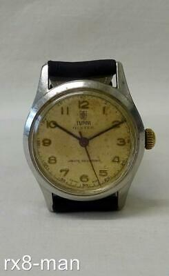 1950's/60's RARE ROLEX TUDOR OYSTER GENTS WRISTWATCH WATCH IN WORKING ORDER