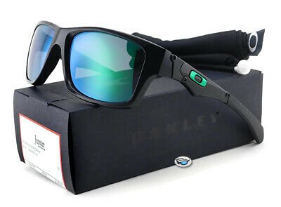 893b54dfe1 NEW  OAKLEY JUPITER Squared BLACK Polished w JADE IRIDIUM Lens ...