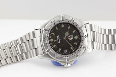 TAG HEUER AUTOMATIC GENTS WRISTWATCH c1990s (MODEL REF: 669.206F), BOXED.
