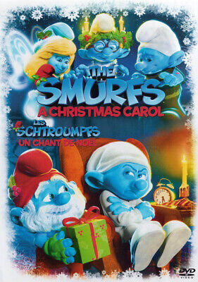 The Smurfs Christmas Carol (Bilingual) (Dvd)