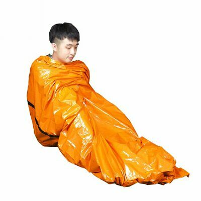 Camping Sleeping Bag Portable Emergency Blanket First Aid Survival Res FE