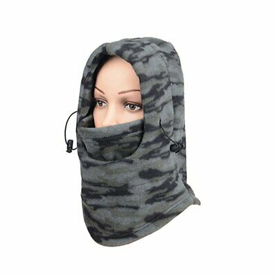 Camouflage Face Mask Cycling Mask Windproof Warm Winter Neck Guard Sc SZ