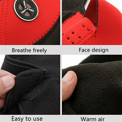 Warm Mask Riding Mask Autumn Warm Outdoor Visor Face Mask Wind Proof Ma 2F