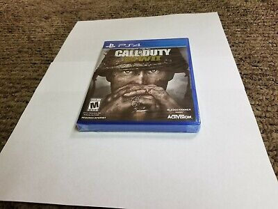 Call of Duty: WWII (Sony PlayStation 4, 2017) new ps4