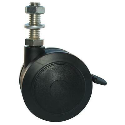 MJM International R4TW Replacement 4 in. twin nylon threaded stem casters