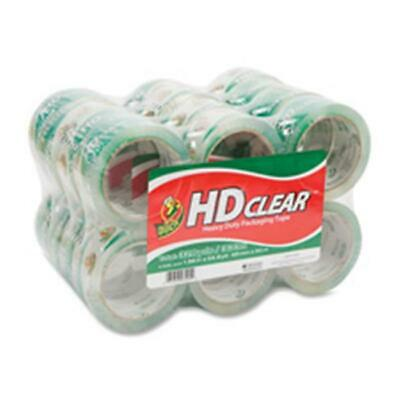 Duck Brand DUC393730 Packing Tape 1.88x54.7Yds. 24-PK Clear
