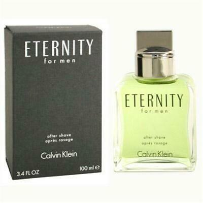 ETERNITY by Calvin Klein After Shave 3.4 oz
