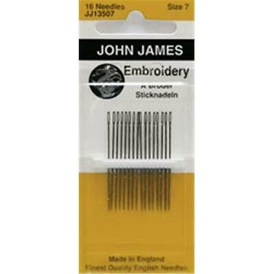 Colonial Needle 72149 Crewel-Embroidery Hand Needles-Size 7 16-Pkg