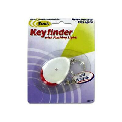 Sonic sound key chain finder with flashing light - Pack of 24