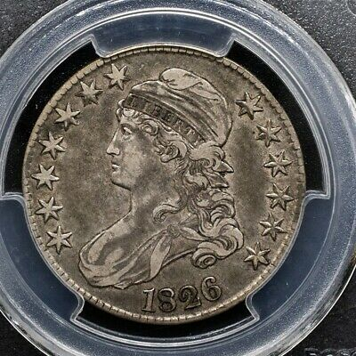 1826 Capped Bust Half Dollar Overton O-118a - PCGS XF40 - CAC Certified