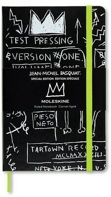Moleskine Limited Edition Notebook Basquiat, Large, Ruled, Sketch, Hard Cover (5