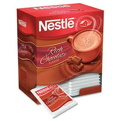 Nes 25485 Instant Hot Cocoa Mix Chocolate 0.71oz 50/Box