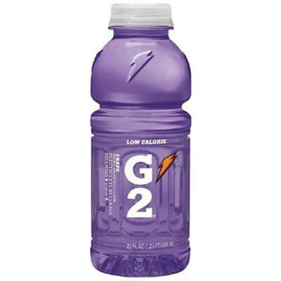 Gatorade 308-20406 20 Oz G2 Grape Wide Mouth Bottles
