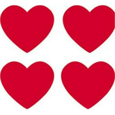 Trend Enterprises Inc. T-46072 Supershapes Stickers Red Hearts